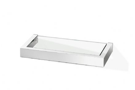 Zack Linea Polished  26.5 cm Short Bathroom Shelf - 40028